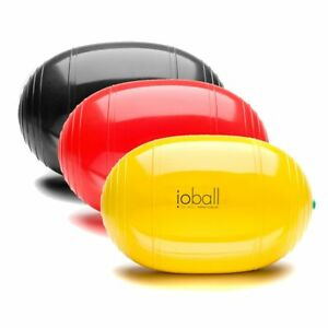 Original io-Ball®   ovaler Gymnastikball für Pilates & Yoga   in 3 Farben NEU