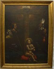 STRUMENTI DELLA PASSIONE Olio su tela 67x50 tra XVI e XVII secolo tra '500/ '600