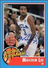 ET 	2011-12 Fleer Retro Autographs #76 Malcolm Lee RS