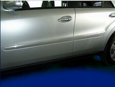 Mercedes W164 ML Stainless Steel Chrome door Side trims