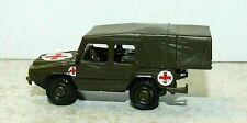 "00/H0 1:87 - New - Herpa - VW Iltis ""Ambulance Jeep"" - German Army - Military"