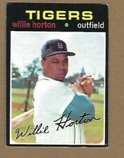 1971 TOPP WILLIE HORTON CARD #120 EX FREE SHIPPING