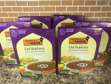 6 Kitchen of India DAL BUKHARA Black Gram Lentils 10 oz pack MILD 08/01/2021