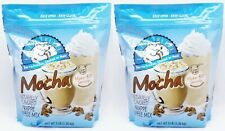 2 BAGS Caffe D'Amour Frappe Freeze MOCHA Hot Cold Coffee Drink Mix 3 LBS EACH