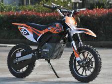 New MotoTec 24v Electric Dirt Bike 500w (16 MPH Top Speed!!!) Age - 13+ (Orange)