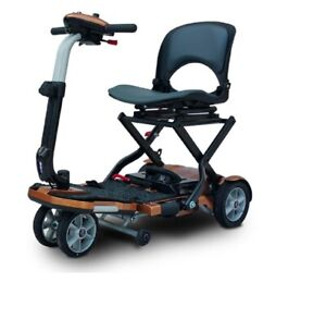 New Ev Rider S19+Cp Transport Plus 4 Wheel Power Scooter Copper