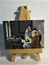 Girl Interrupted music  ACEO Original PAINTING by Ray Dicken a Johannes Vermeer