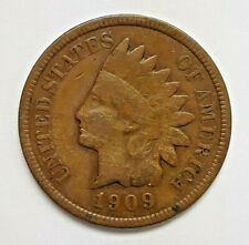 1909 S  Indian head cent  (J0420-106)