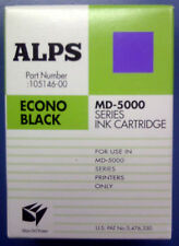 Alps MD Printer Ink Cartridge - Econo Black 105146-00 (MD5000; MD5500 only)