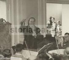MUSICA_MUSICISTI CELEBRI_ORCHESTRA_RARA FOTOGRAFIA D'EPOCA_DA COLLEZIONE_LONDRA