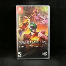 Power Rangers : Battle for the grid (Nintendo Switch) BRAND NEW / Region Free