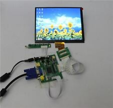 HDMI+VGA+2AV+REAR View MONITORS+8INCH 1027*768 HJ080IA-01E Tft Lcd Display hu
