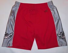 Vtg 1990s 2000s UNLV RUNNIN' REBELS NCAA Colosseum BASKETBALL GYM SHORTS Men's L