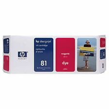 ORIGINAL & BOXED HP81 / C4932A MAGENTA DYE INK CARTRIDGE - SWIFTLY POSTED
