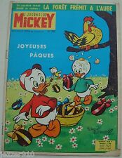 ¤ LE JOURNAL DE MICKEY n°568 ¤ 14/04/1963
