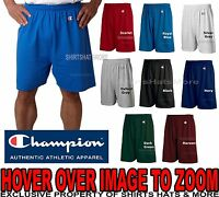 Champion Men's Shorts Cotton Athletic Gym Workout  6'' No Pocket 8187 S-XL 2X 3X