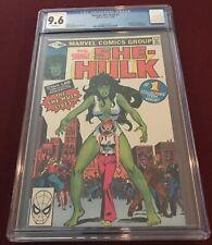 Marvel Savage She Hulk 1 CGC 9.6 Stan Lee John Buscema Cover First Appearance