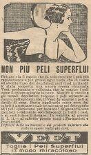 W8286 VEET non più peli superflui - Pubblicità del 1926 - Vintage advertising