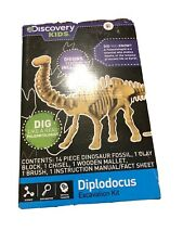 Discovery Kids Dinosaur Excavation Kit Diplodocus ages 8+