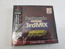 PSX SONY PLAYSTATION JAP NTSC BEATMANIA APPEND 3RD MIX KONAMI SEALED