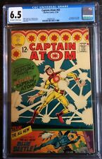 Captain Atom #83 CGC 6.5 1st Appearance of Blue Beetle 1966