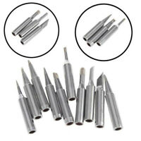 10x Lead-free Solder Tip Set Iron/Tips 900M-T For 936-938 969 Soldering Station