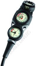 Mares Scuba Mission 3 gauge console