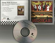 CHEAP TRICK Budokan 5TRX RARE RADIO EDITS SAMPLER PROMO DJ CD Single USA 2008