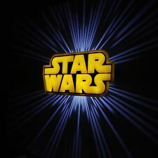 Star Wars Logo 3D FX Wall Deco LED Night Light New - Free Delivery!