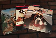 Lot of 3 Digital Laserdiscs Family Movies, Beethoven,Beethoven 2nd & Richie Rich
