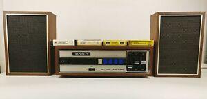 Vintage Rare Benson 8 Track Cartridge Player Beatles Rolling stones Jonny Cash