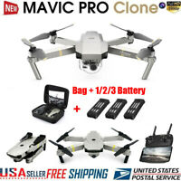 DJI Mavic Pro Platinum Clone Drone Wifi FPV 1080P Camera Foldable RC Quadcopter
