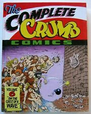 the COMPLETE CRUMB COMICS #6 HC VF R FANTAGRAPHICS 1st Ptg 1991 FREE SHIP