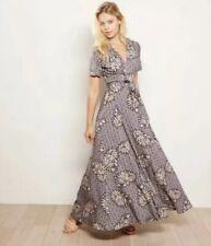 NWT Anthropologie Zinaida Wrap Dress Size Small Maxi The Odells