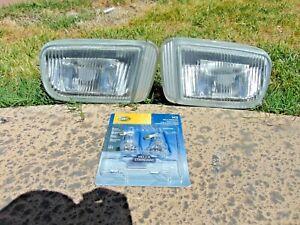 95-96 Nissan Maxima Fog Light Assemblies LH & RH Both Tested OEM