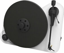Platine vinyle hi-fi Pro-Ject Vertical Turntable E blanche white