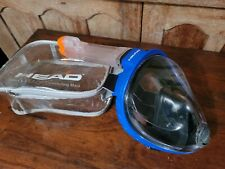 Adult Head Sea Vu Dry Full Face Snorkeling Mask And Bag