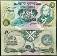 SCOTLAND 1 POUND 1971 P 111 AUNC ABOUT UNC