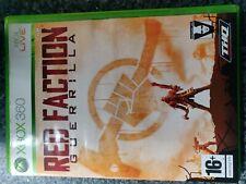 Red facción de la guerrilla Xbox 360 Completo en Caja Original