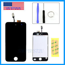 For iPod Touch 4 4th Gen 4G LCD Screen Replace Digitizer Glass Assembly+Adhesive