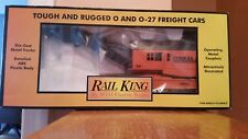 MTH RailKing Conrail Operating Crane Car 0/027, # 30-7917-NIB/Mint Condition