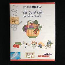 Bernina Embroidery Designs Card #772 Good Life for Artista 165 170 180 200