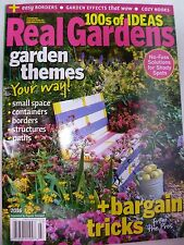 REAL GARDENS Magazine 2016 Issue 100's Of Ideas~Plant Tips~FLOWER GARDENING NEW!