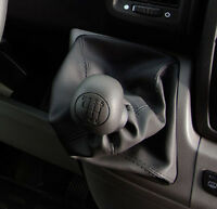 Genuine Leather Gear Shift Boot Gaiter Cover Sleeve fit Peugeot Boxer I 1994 ->