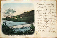 1905 Postcard: Village Lake - Jeffersonville, New York NY