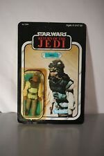 Nikto 1983 Return Of The Jedi Star Wars Vintage Figure 77 Back Sealed Unpunched