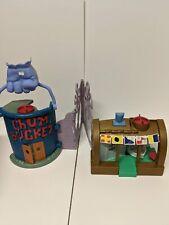 Krusty Krab & Chum Bucket Spongebob Imaginext Set LOOSE