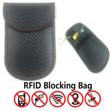 Faraday Bag RFID Blocking Key Fob Guard Protector Shield Block Pouch
