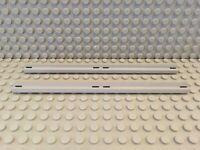 Lego Train 2x rails 1x16 rien de long-N.H Gris 3228 c