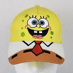 Spongebob Squarepants Nickelodeon Yellow Youth Hat Cap